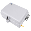 16 Core Outdoor Waterproof Fiber Optic Distribution Box / Closure Pc Material