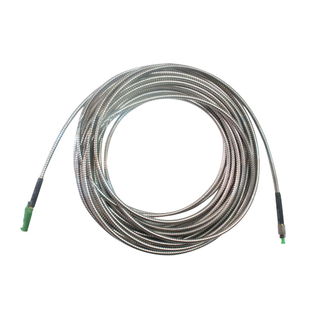 APC-FC Multimode Fiber Optic Patch Cord Armoured Cable
