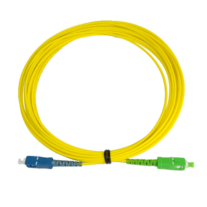 SC-SC/APC Single Core Fiber Optic Patch Cord