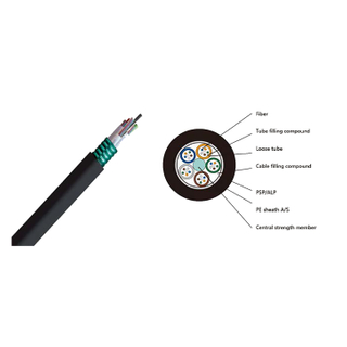 Outdoor Use Stranded Loose Tube Armored Cable(GYTA/S)